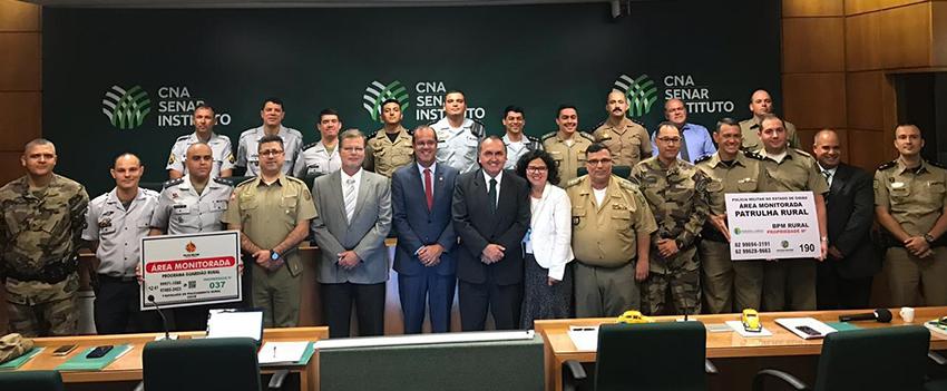 Segurança rural é debatida em Brasília (DF)
